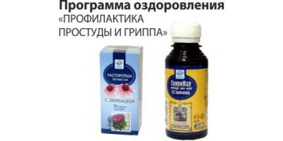 Программа оздоровления «ПРОФИЛАКТИКА ПРОСТУДЫ И ГРИППА»