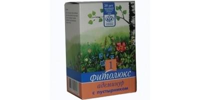 Гипертонический сбор трав при повышенном давлении Фитолюкс 1 - Адеминур с пустырником, 50 гр