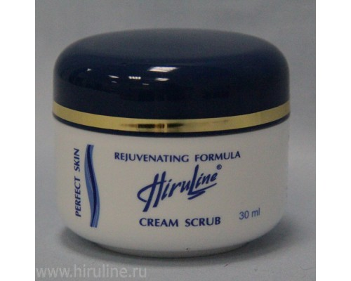 Крем-Скраб Hiruline - Совершенная кожа, 30 мл