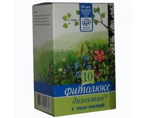 Почечный сбор трав при мочекаменной болезни Фитолюкс 10 - Дилектин с пол-полой, 50г