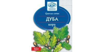 Дуба кора, 50 гр