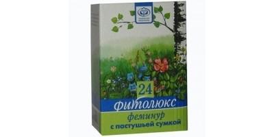 Гинекологический сбор трав Фитолюкс 24 - Феминур с пастушьей сумкой, 50г