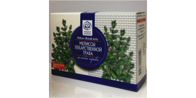 Мелиссы лекарственной трава в ф/п по 1,5гр - 20шт