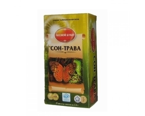 Чайный напиток Сон-трава в ф/п 2г - 20шт